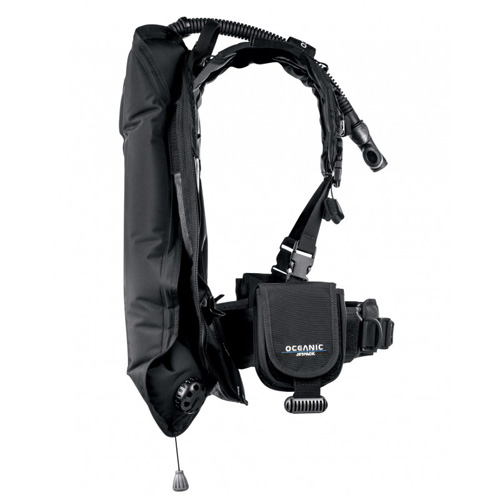 Oceanic Jetpack BCD – take your entire dive gear as hand luggage !